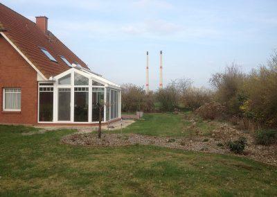 Der Garten Oltmann - vorher