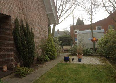 Der Garten Schulte - vorher