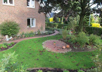 Der Garten Rolwes - nachher