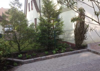 Der Garten Schulte - nachher