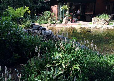 Der Garten Fangmann - nachher