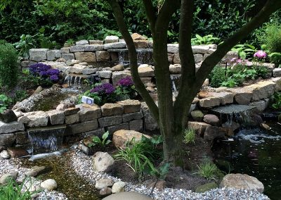 Der Garten Hielscher- nachher