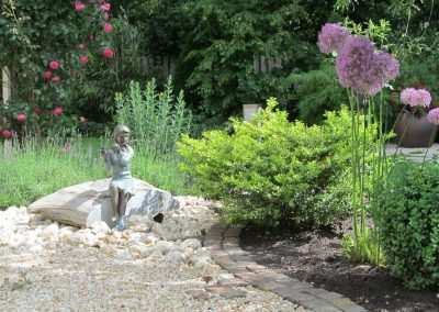 Der Garten Tiedeken - vorher
