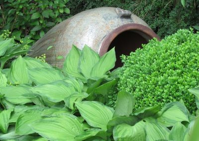 Der Garten Tiedeken - nachher