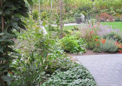 Der Garten Lampe - nachher