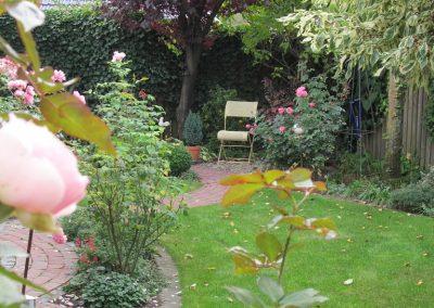 Der Garten Berg - nachher