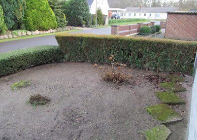Der Garten Heitmann - vorher