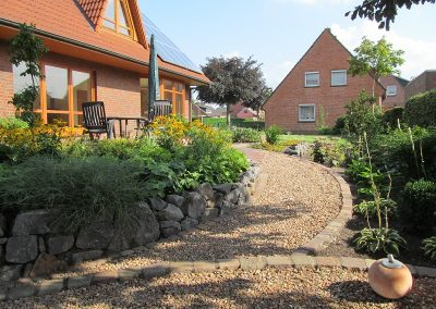 Der Garten Roßkamp - nachher