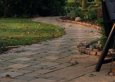 Der Garten Kessen - nachher