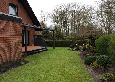 Der Garten Holzenkamp - vorher