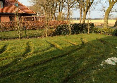Der Garten Möllmann- vorher