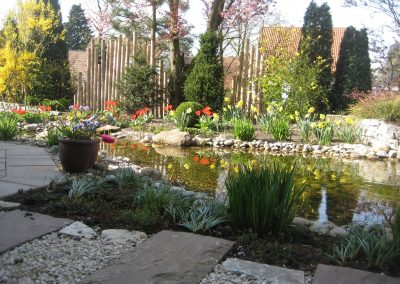 Der Garten Dwertmann - nachher