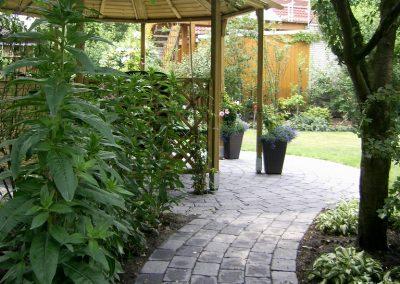 Der Garten Bergmann- nachher