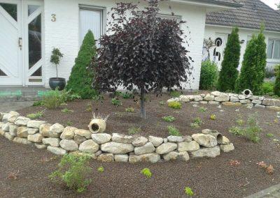 Der Garten Klumpe - nachher