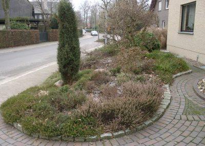 Der Garten Schmitz - vorher