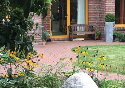 Der Garten Frilling - nachher