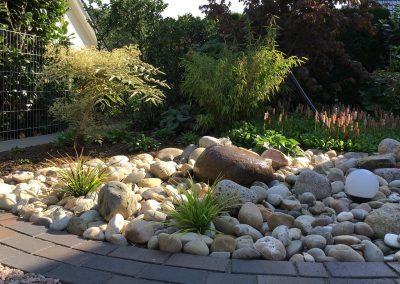 Der Garten klein aber fein - nachher