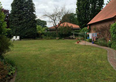 Der Garten Kreienborg - vorher