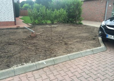 Der Garten Baro - vorher