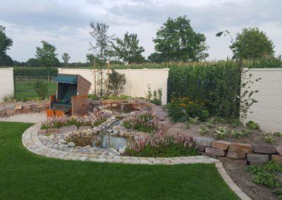 Der Garten Heine - nachher