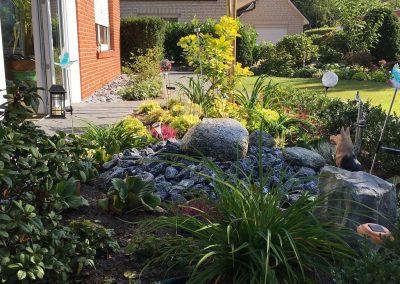 Der Garten von Familie Meyer aus Cappeln