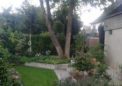 Der Garten Grünfeld - nachher