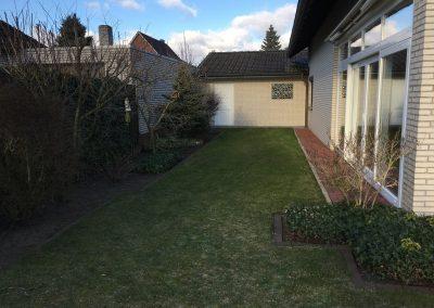 Der Garten Bothe - vorher