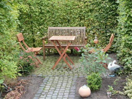 Der Garten von Elisabeth und Ewald Lübbe aus Bösel