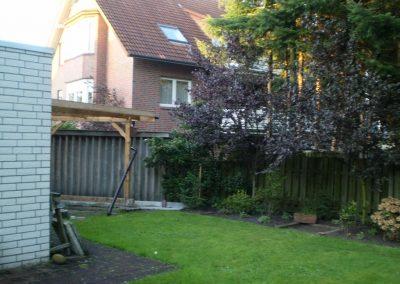 Der Garten Wiechmann - vorher