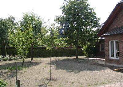 Der Garten Buß - vorher