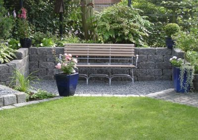 Der Garten von Familie Aßmann aus Cloppenburg