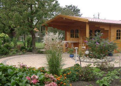 Der Garten von Margret und Franz Büssing aus Emstek