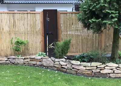 Der Garten Peterßen - nachher