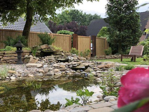 Der Garten von Petra und Carsten Peterßen aus Wildeshausen