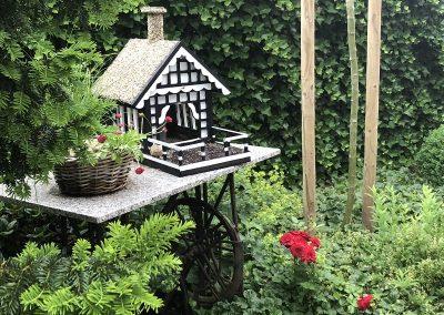 Der Garten von Alfons und Barbara Klünner aus Garrel