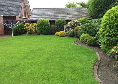 Der Garten Klünner - vorher