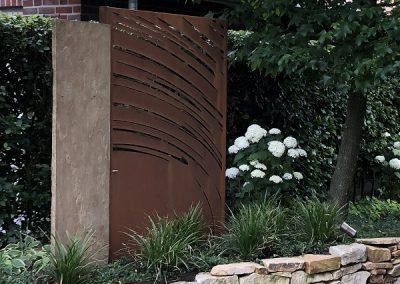 Der Garten Lüske - nachher