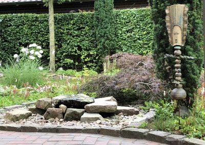 Der Garten von Annabel und Jürgen Lüske aus Langförden
