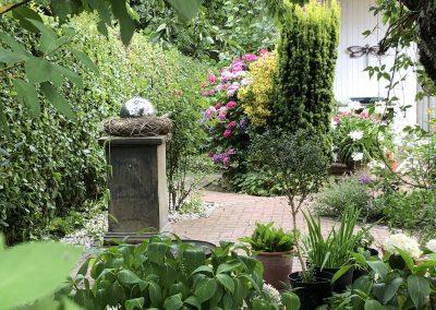 Der Garten - nachher