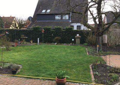 Der Garten - vorher