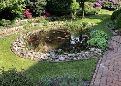 Der Garten Finkbeiner - vorher