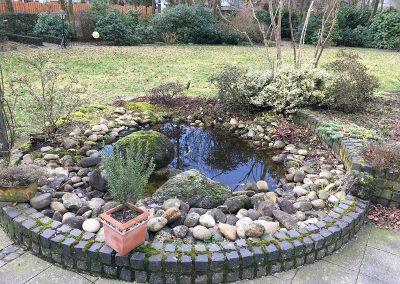 Ein Garten in Vechta - vorher