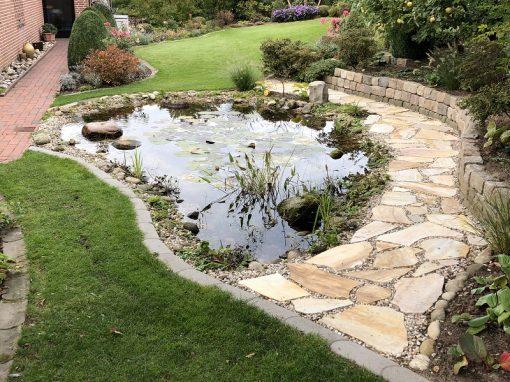 Der Garten von Hella und Lothar Finkbeiner