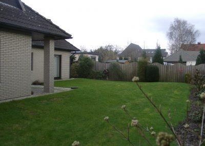 Der Garten Tempelmann - vorher