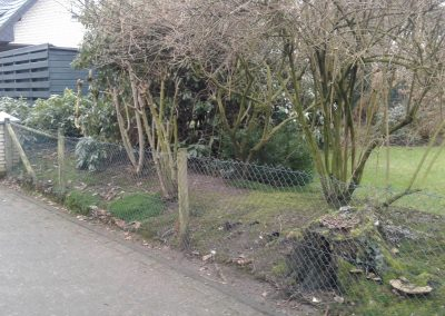 Der Garten Kellner - vorher