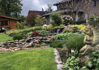 Der Garten Ostendorf - nachher
