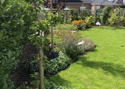 Der Garten Richter - nachher