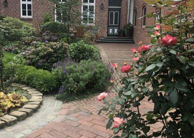 Der Garten Vorwerk - nachher