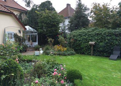 Der Garten Bahlmann vorher