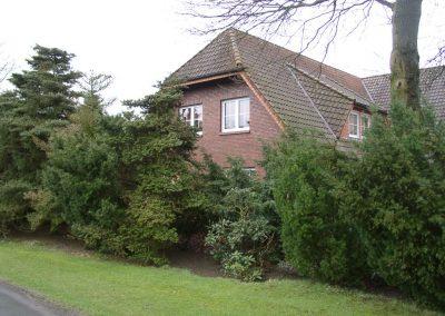 Der Garten Franke - vorher